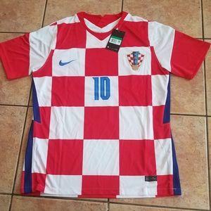 Nike Croatia Modrić Jersey